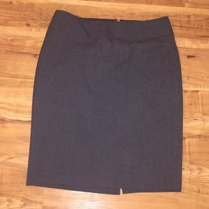 Pencil skirt from The Limited in Grey